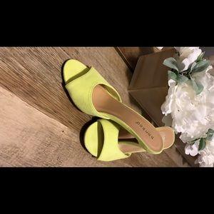 Neon low heel